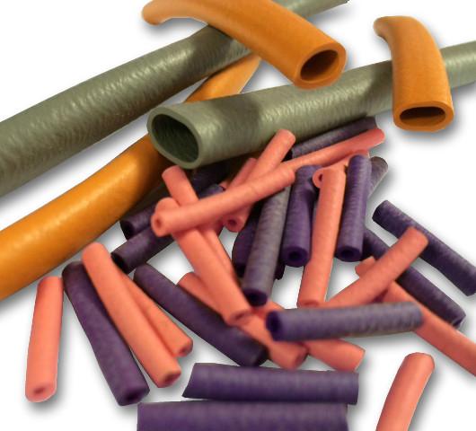 Neoprene Tubing HP20 x 20mm (2.0mm I/D x 20mm Long) UC - Max OD of cable 4.0mm Orange