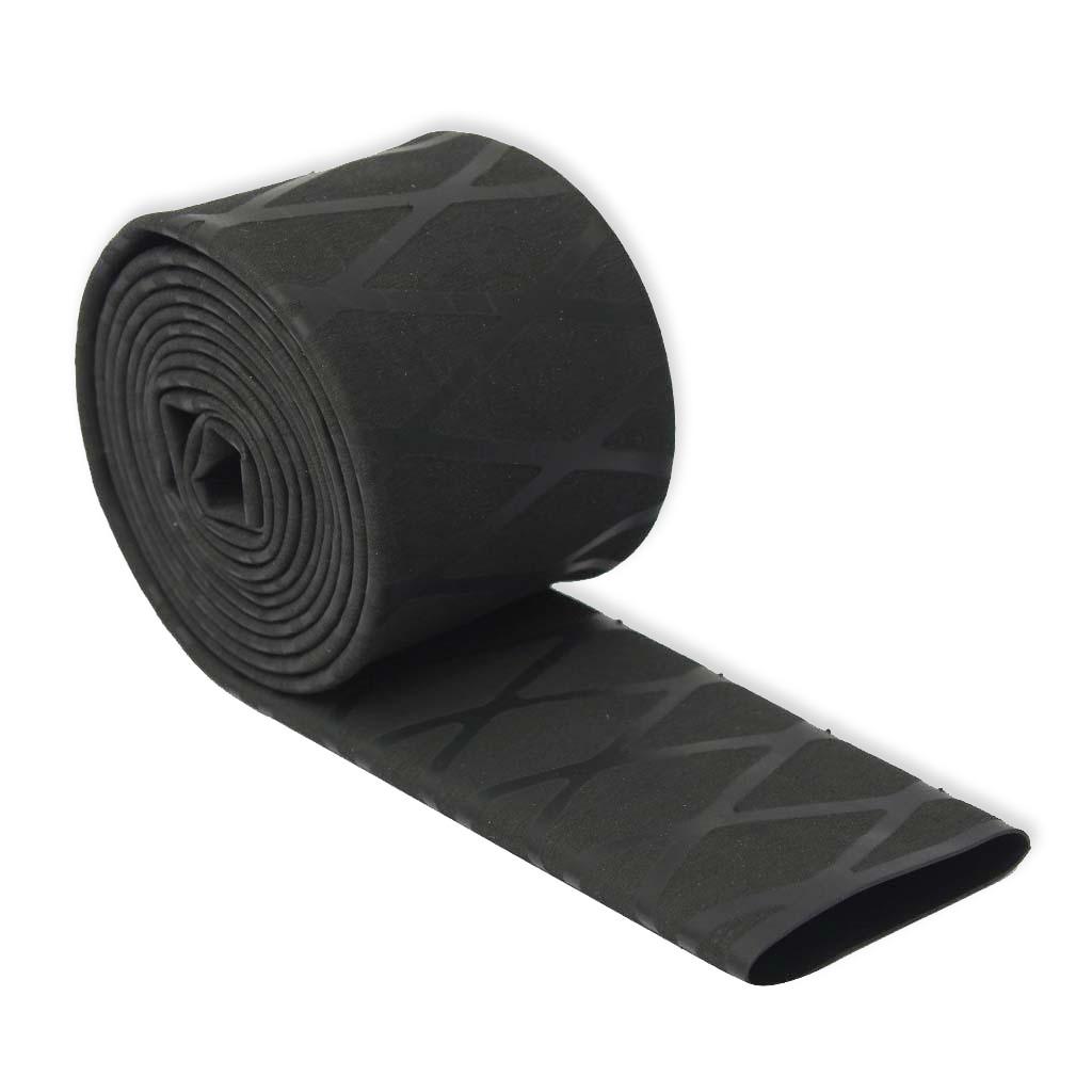 Black Non Slip Textured Diamond HeatShrink Tubing