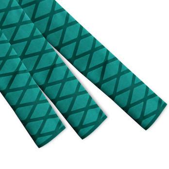 Green Non Slip Textured Diamond HeatShrink Tubing