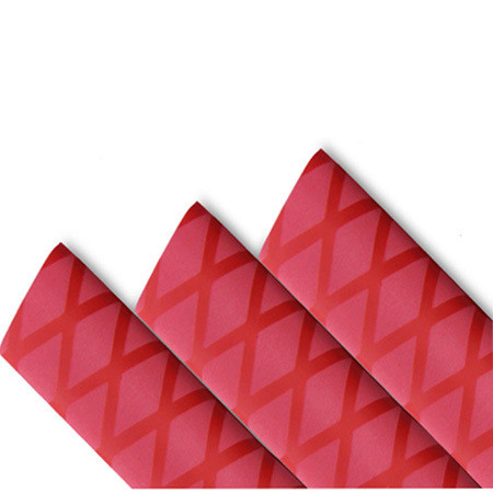 Red Non Slip Textured Diamond HeatShrink Tubing