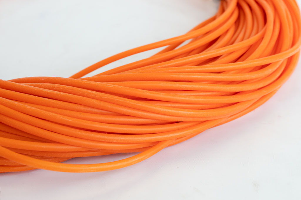 Orange Silicone Tubing