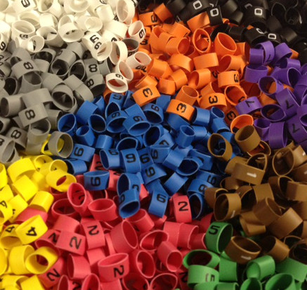 International Colour Coded Heat Shrink Cable Markers size 6.4/3.2