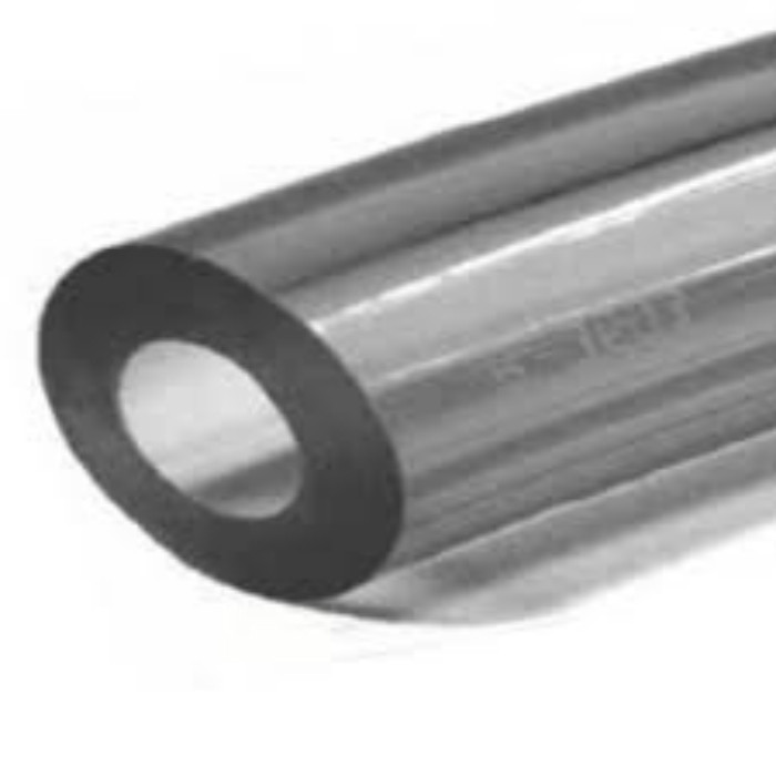 Larger Diameter PVC Hose Tubing, Extra Heavy Duty Wall - 6.5mm Thick X 76mm I/D