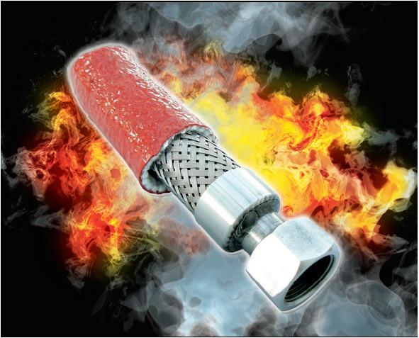 Pyrojacket / Pyrosleeve Firesleeve PGH.20/ROS Size 6mm