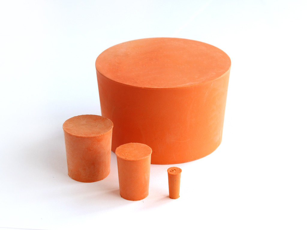 Red Natural Rubber Bungs