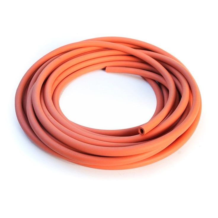Red Natural Rubber Tubing - Imperial Sizes