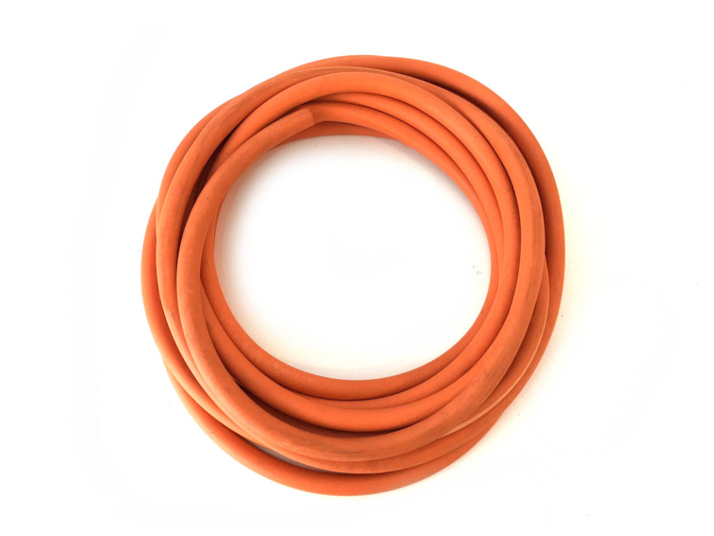 Red Rubber Tubing H08 (8mm I/D 6mm Wall Thickness)