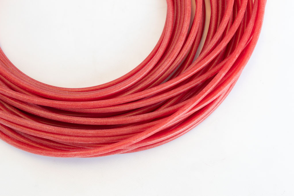 Red Silicone Tubing 2