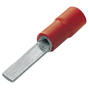 Pre-Insulated Crimp Terminals - Red Blade - Length of Blade 14mm - Width 3mm