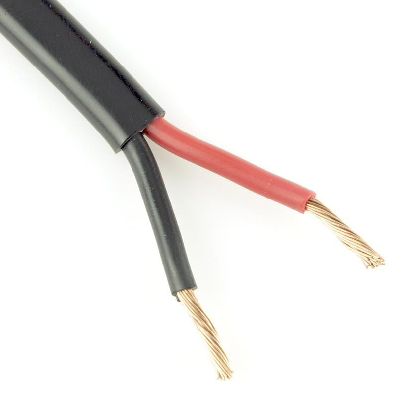 Thin Wall 2 Core Auto Cable (Flat) 2 x 28/0.30mm 25.0 amps TW02/02