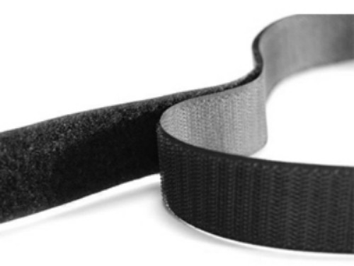 VELCRO® brand Sew-on Tape Hook 100mm Black