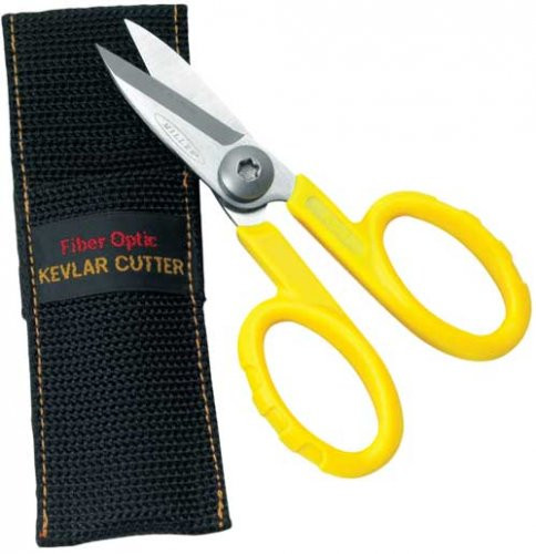 Fiber Optic Shears with Pouch