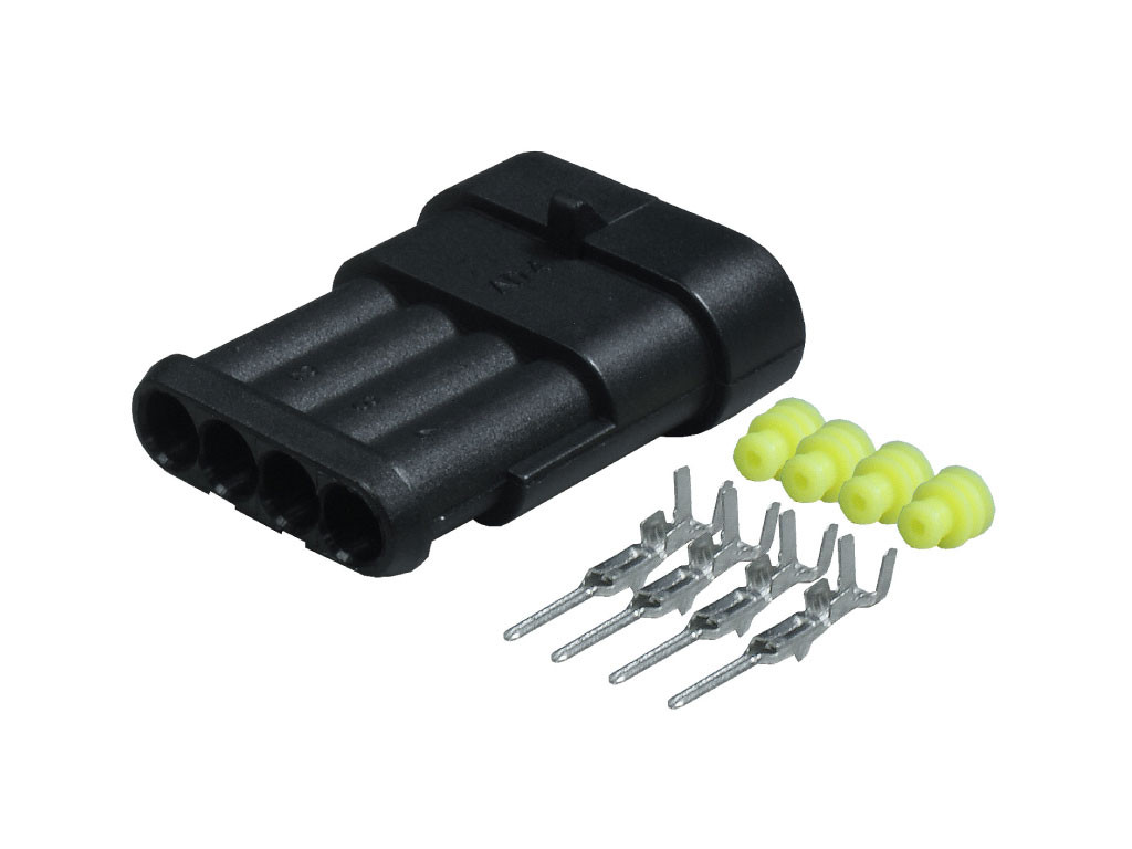 Superseal Connectors 4 Way Male Kit 1.5mm SS4M