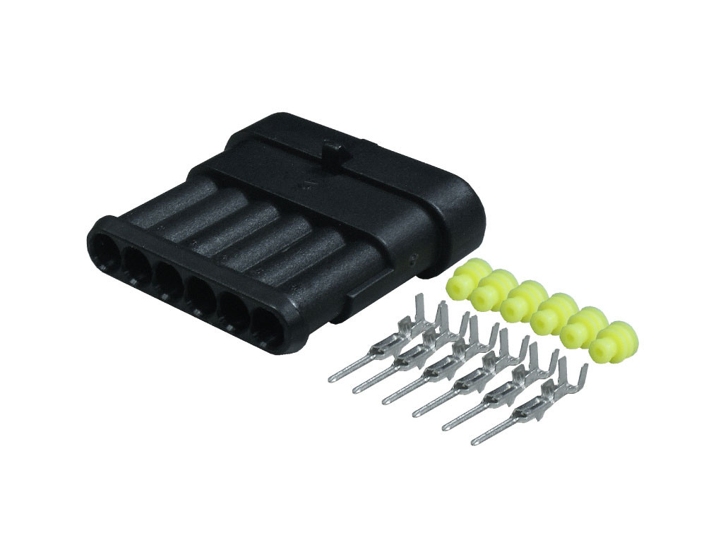Superseal Connectors 6 Way Male Kit 1.5mm SS6M