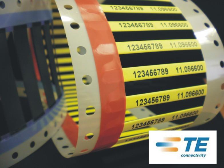 HX-SCE-2.4-50-4 Low Fire Hazard (LFH) Marker Sleeves Yellow - Mini Reels