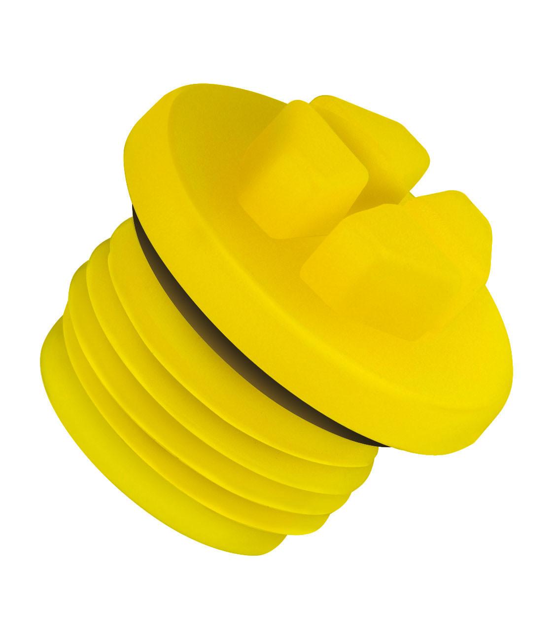 BSP Threaded O-Ring Plug, BSP 1/8 x 28 - 500 Pieces