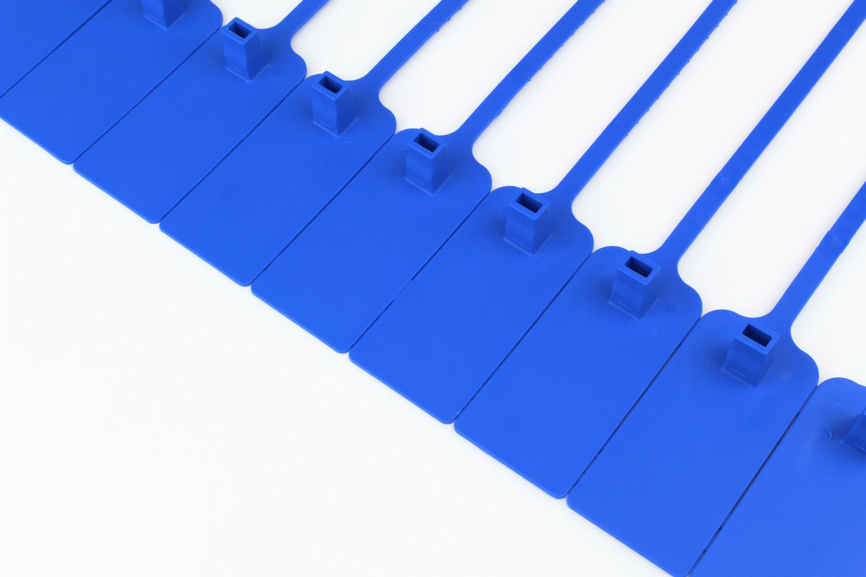 Tracewaste Pull Through Seals - Blue 100 pieces