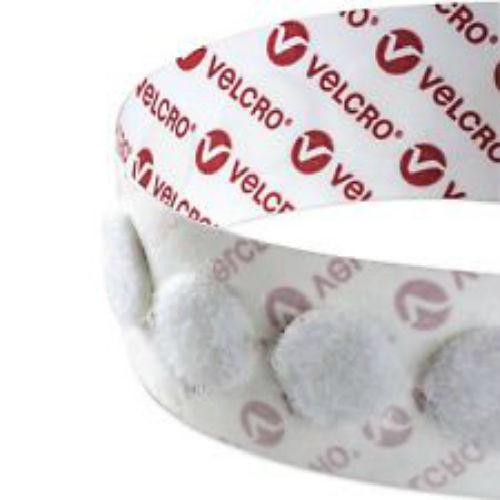 VELCRO® brand Hook & Loop Dots 22mm White