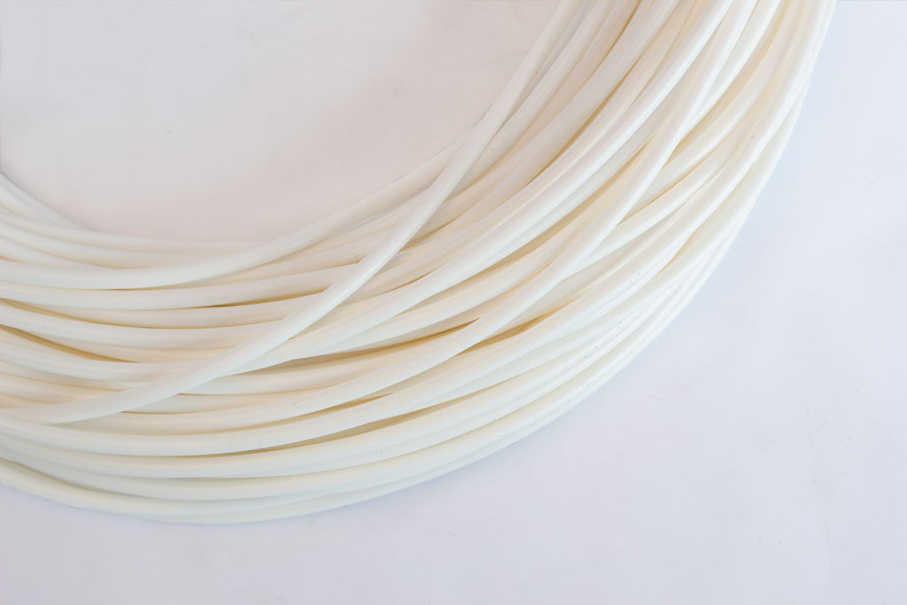 White Silicone Tubing