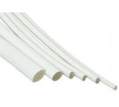 Heat Shrink Tubing HSP1 - 1.6mm I.D / 0.8mm I.D White