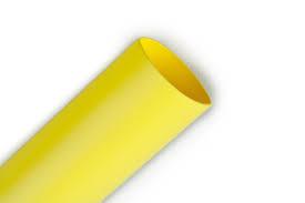 Heat Shrink Tubing HSP1 - 1.2mm I.D / 0.6mm I.D Yellow