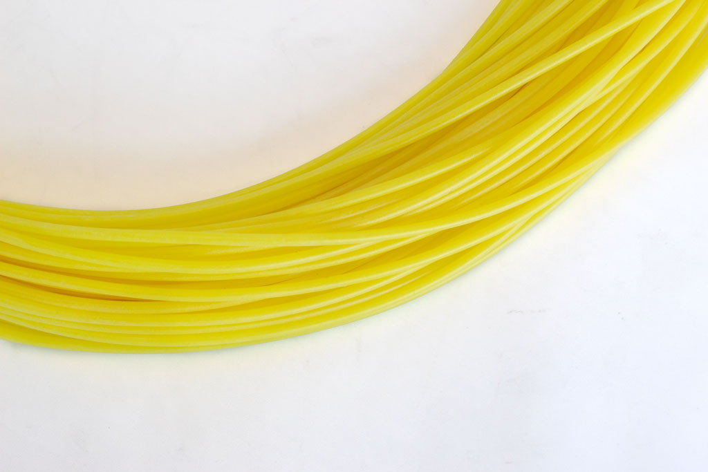 Silicone 'Vacuum Hose' Rubber Tubing SP170-1.5 (17.0mm I/D x 1.5mm Wall) Yellow