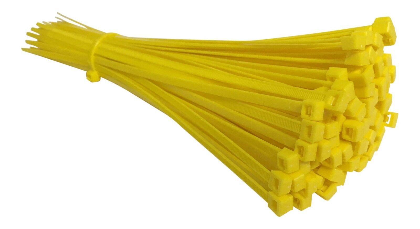 Yellow Nylon Cable Ties