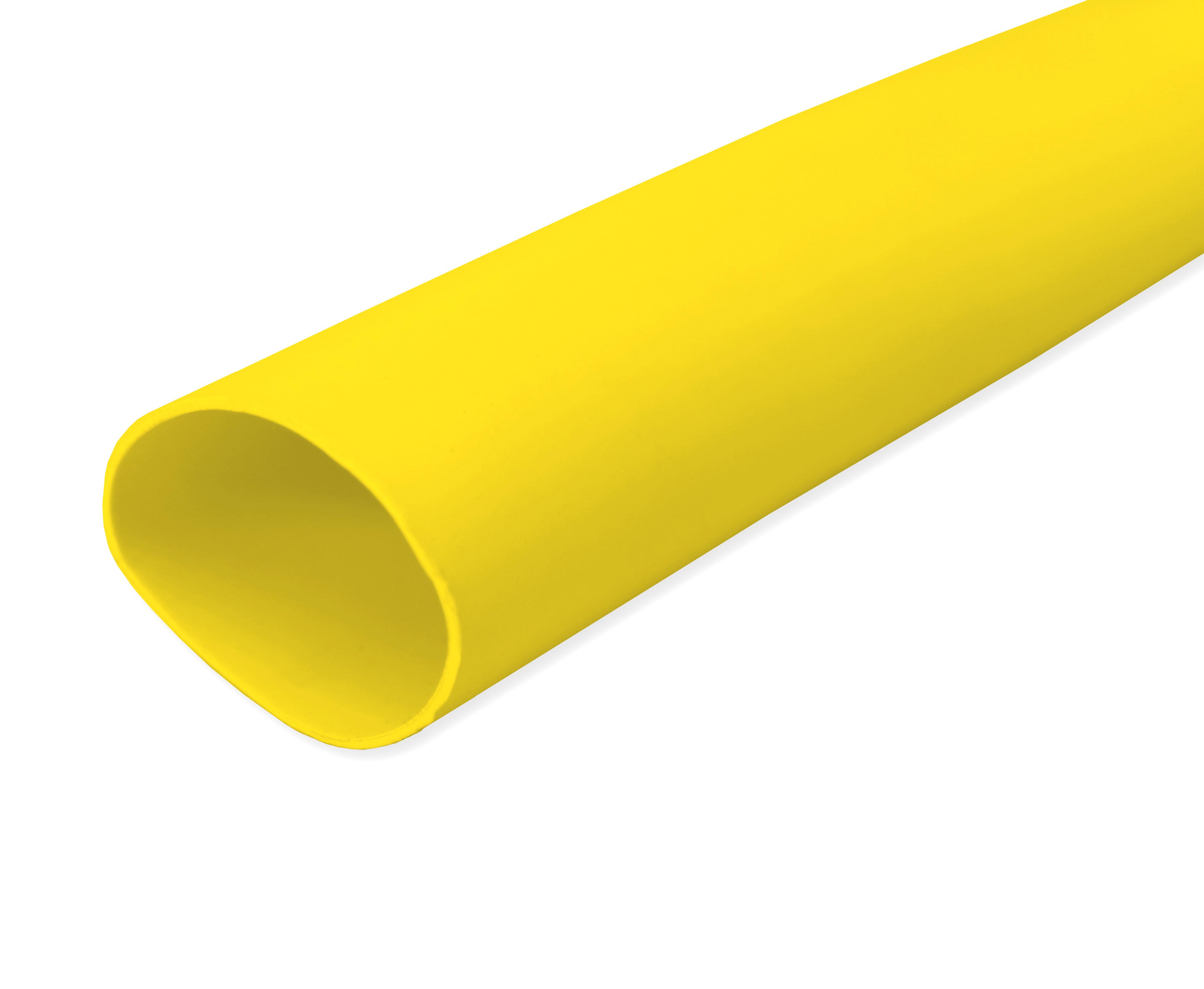 Yellow PVC Sleeving 20.0mm