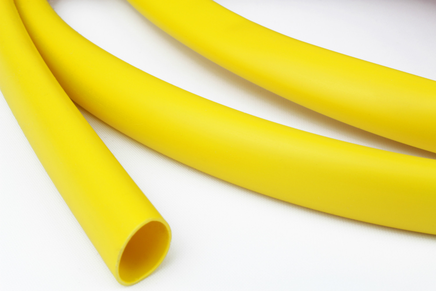 Yellow PVC Sleeving size 4.5mm