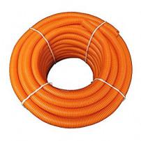 CTPA Orange Flexible Conduit Size 32 - Slit
