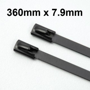 Stainless Steel Cable Ties Coated size 360 x 7.9mm
