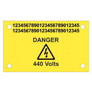 Tie-On Tip Tag Markers size 60 x 80mm Pre-Printed