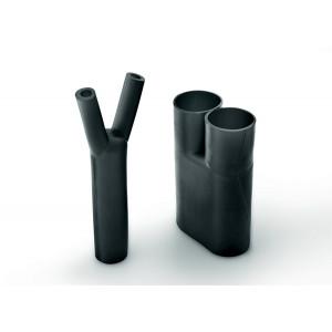 Hellermann Tyton 2-Way Outlet Shape 202-1-B7WM250 Helashrink 200 Series