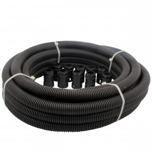 Budget Flexible Conduit Contractor Pack Size 25mm Black
