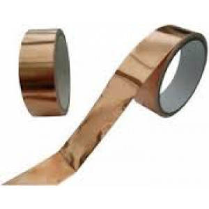 AT526 35 Micron Copper Foil Shielding Tape 25mm x 33m