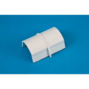 50 x 25mm Smooth-fit Connector White