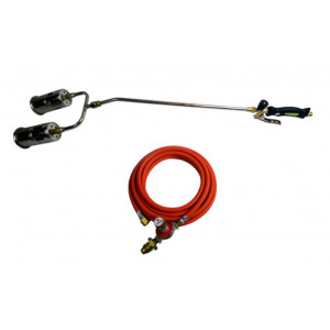 Brenner Economy 600mm, 50mm Two-headed Gas Blow Torch Kit - E960T