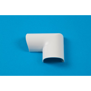 30 x 15mm Clip-Over Door Top Bend White