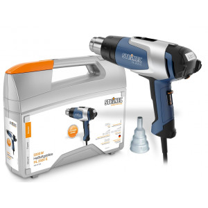 Steinel HL 2020 E Hot Air Tool with LCD Display 230V Kit with Case & Nozzle - 012007