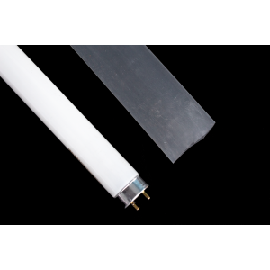 ITUV Shatterproof Fluorescent Light Sleeving for Glass-Free Area