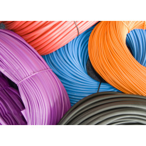 10.0mm PVC Sleeving x 0.5mm Wall