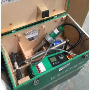 SOLD Leister Varimat V2 Roof Welding Machine Kit 'Dog'- Near New (USED053) SOLD
