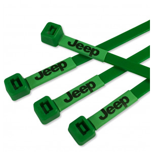 Jeep Logo Printed Cable Ties