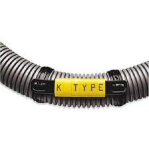 K-Type Marker Cable Carrier Strips - Black