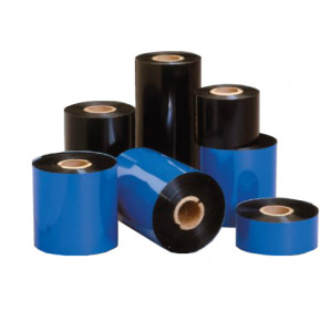 Black Budget Resin Ribbon - 60mm wide x 300 mtrs long Compatible with CAB, T200-IDENT, Tyco & Our H4452 / H4710 Pro