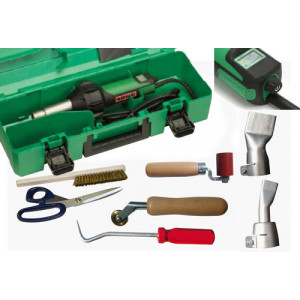 Leister Triac AT FULL Roofing Membrane Hot Air Welder Kit 120V & 230V