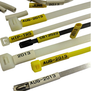 Bespoke Printed Cable Ties - PVC Markers