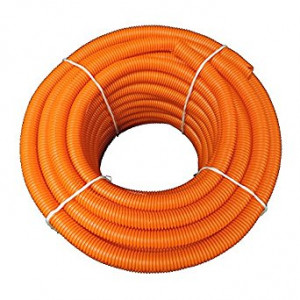 CTPA Orange Flexible Conduit Size 16 - Slit or Unslit