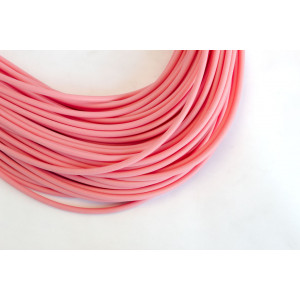 Pink Silicone Tubing