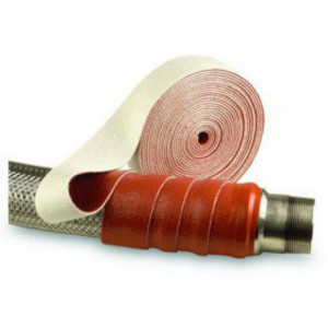 Pyrotape® Thermo Firetape Size 50mm - Silicone Coated Glass Fibre Tape PGT.3/ROS/50